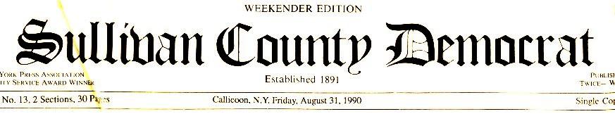 Sullivan County Democrat, August 31, 1990