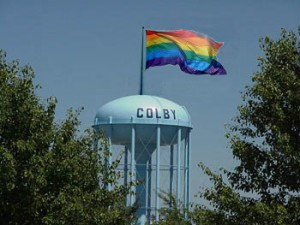 gay water tower