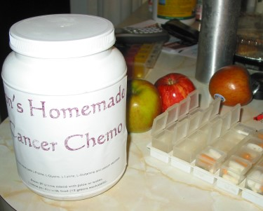 Jon's homemade cancer chemo