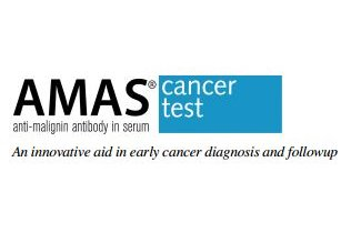 logo for the AMAS early detection cancer screening test, by Oncolab